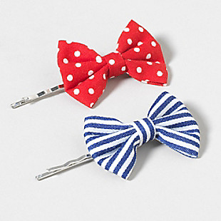 $4.50 Claire's Bow Pop Hair Pins